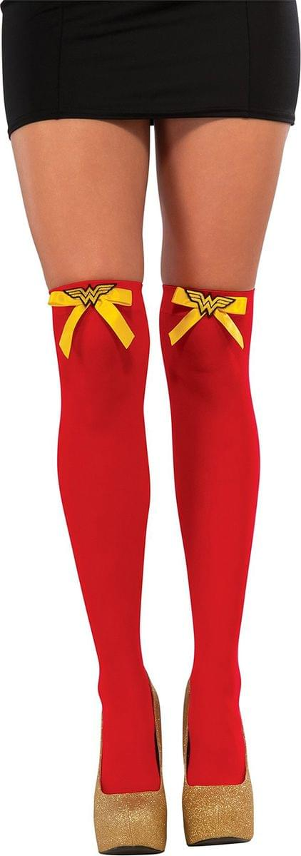 DC Comics Wonder Woman Costume Thigh Highs Adult One Size