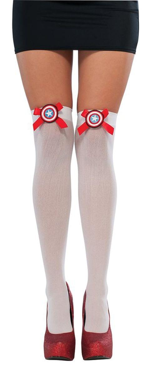 American Dream Costume Thigh Highs Adult One Size