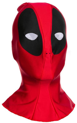 Marvel Deadpool Costume Fabric Overhead Mask Adult One Size