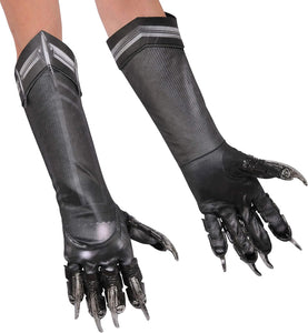 Adult Deluxe Black Panther Costume Gloves