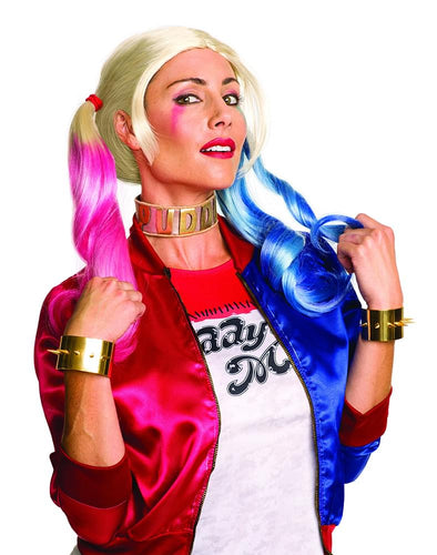 Suicide Squad Harley Quinn Costume Jewelry Set Adult One Size