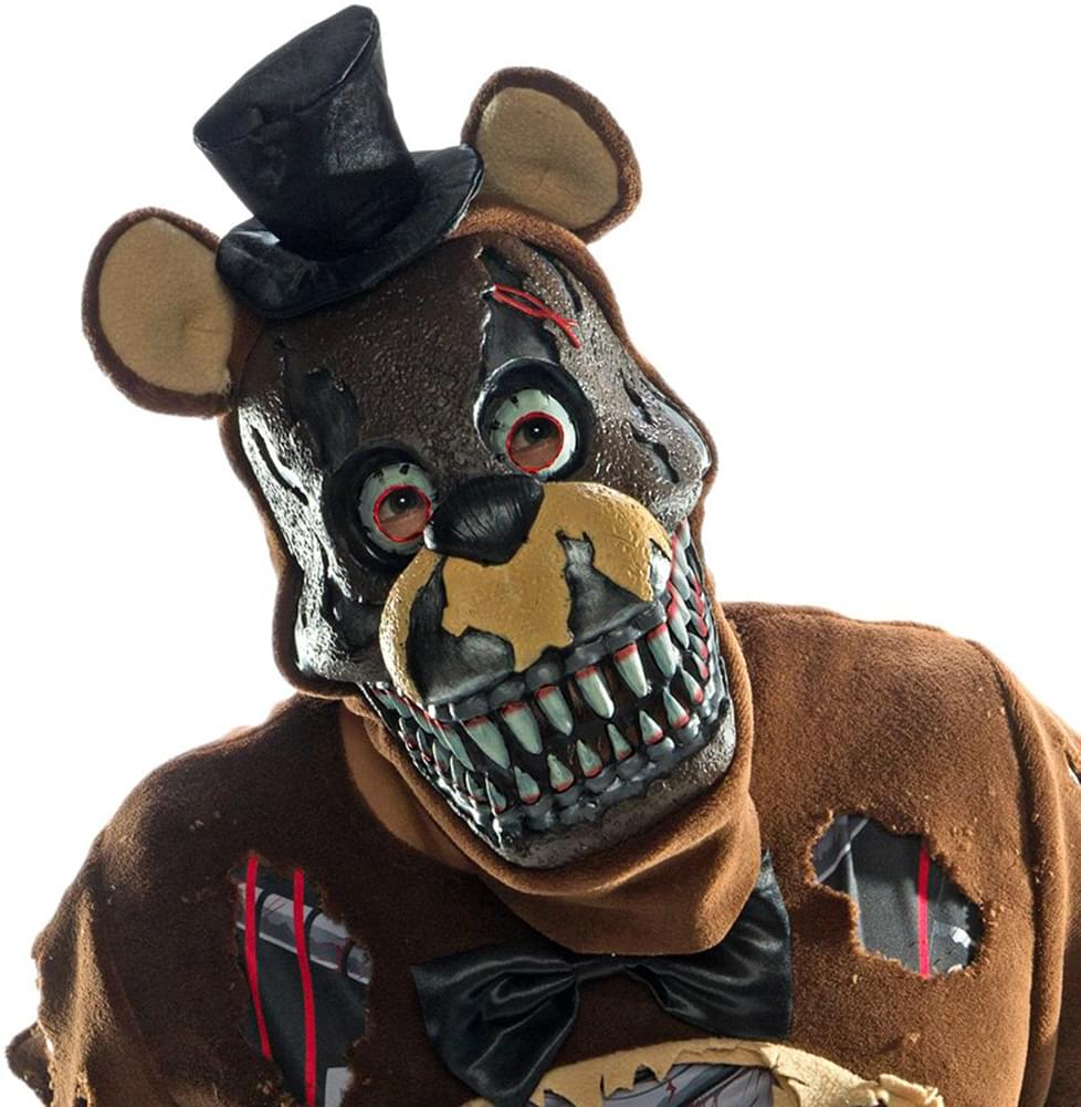 Five Nights At Freddyu0027s Nightmare Freddy Costume Mask  sc 1 st  Toynk Toys : kids freddy costume  - Germanpascual.Com