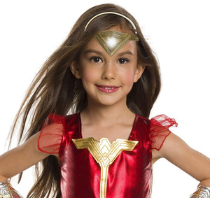 Justice League Light-Up Wonder Woman Child Costume Tiara