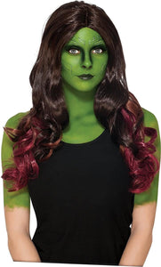 Guardians of the Galaxy Vol 2 Gamora Wig Adult Costume Accessory