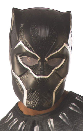 Avengers Infinity War Black Panther 1/2 Mask Adult Costume Accessory