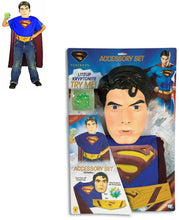 Load image into Gallery viewer, Superman Child Costume Accessory Kit One Size