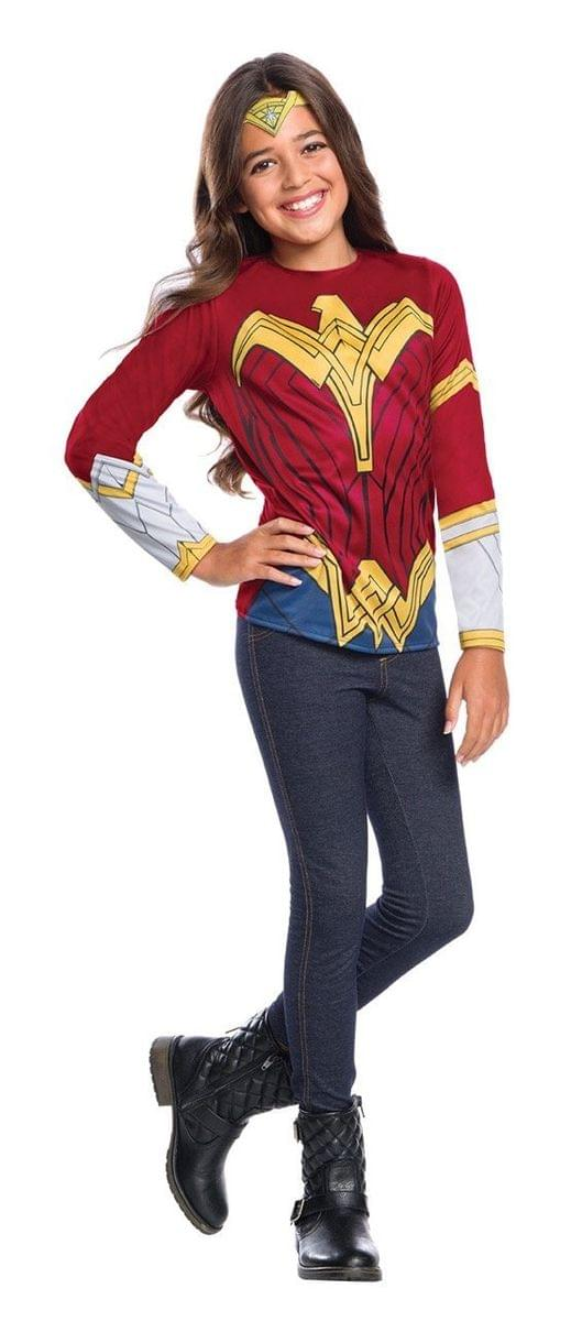 Justice League Movie Wonder Woman Child Costume Top Toynk Toys