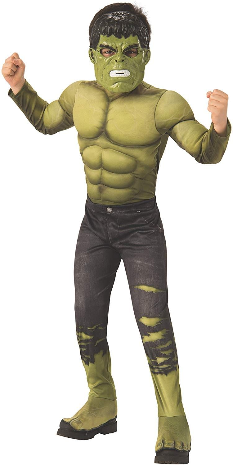 Marvel Avengers Infinity War Hulk Deluxe Child Costume - Large