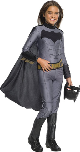 Justice League Movie Batman Girl's Costume Jumpsuit