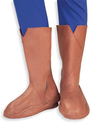 Superman Deluxe Boot Tops Superman Adult Costume