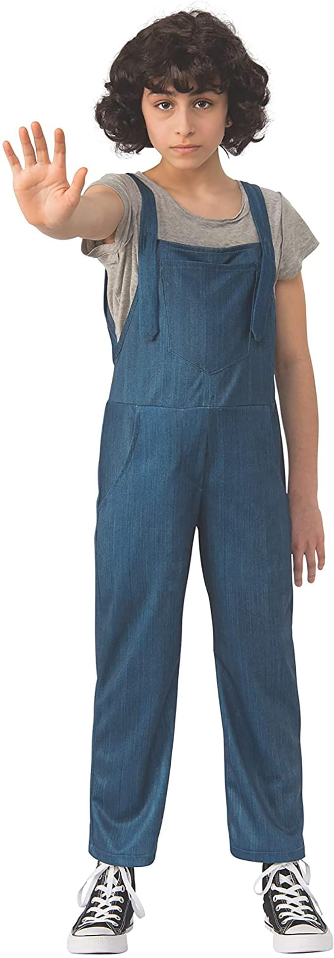 Stranger Things Eleven Overalls Child Costume