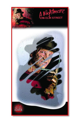 Nightmare on Elm Street Freddy Glass Grab Misty Face Decoration