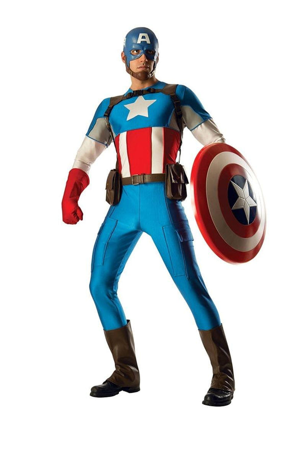 Captain America Grand Heritage Adult Collectors Costume