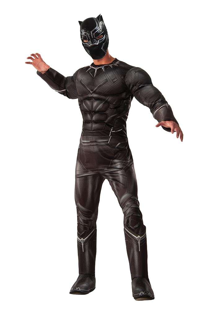 Captain America 3 Deluxe Black Panther Costume Adult Standard