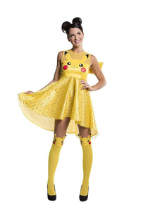 Pokemon Pikachu Women's Costume Dress: Large
