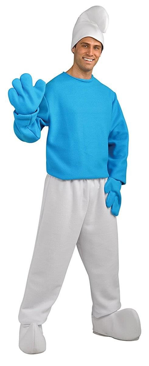 Smurfs The Lost Village Smurf Deluxe Adult Costume Toynk Toys