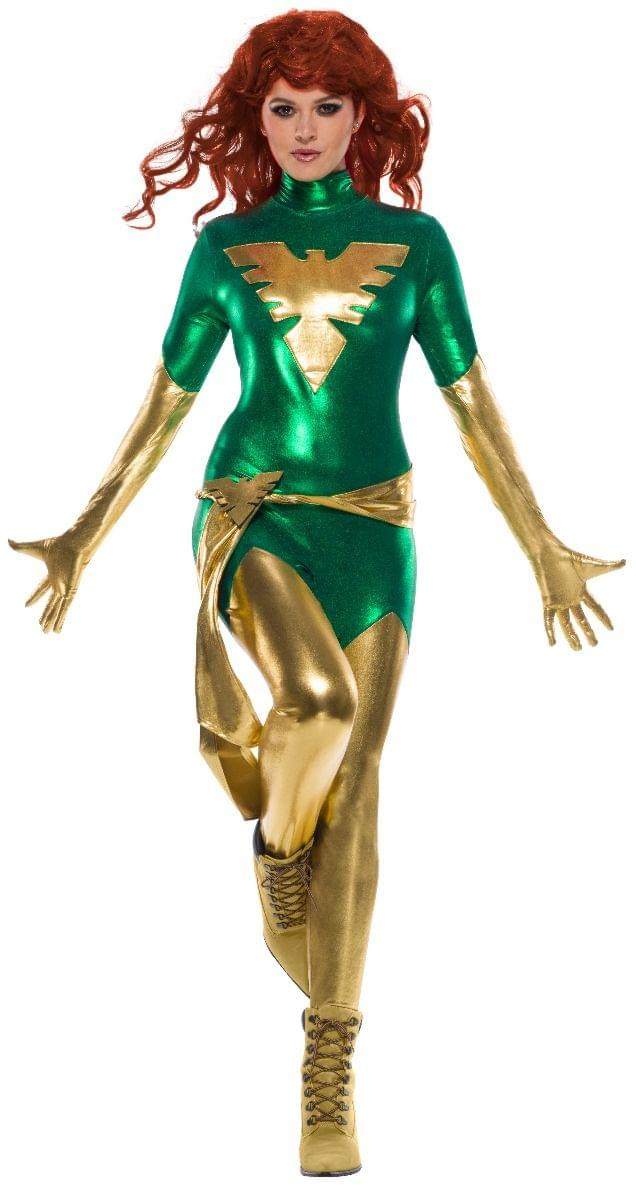 Marvel X-Men Green Phoenix Adult Secret Wishes Costume