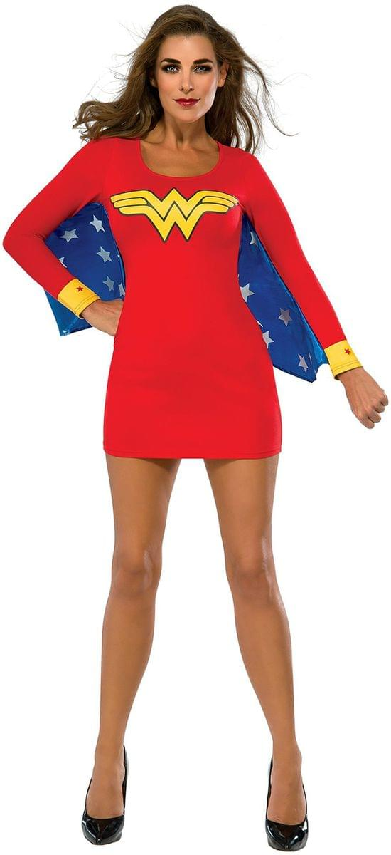 DC Comics Wonder Woman Cape Dress Adult Costume