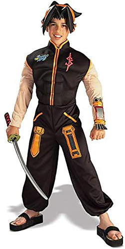 Shaman King Deluxe Muscle Padded Costume Child