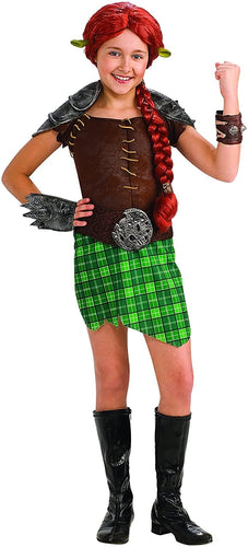 Shrek 4 Fiona Warrior Deluxe Child Costume