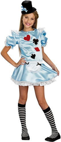 Alice In Wonderland Dress Costume Tween