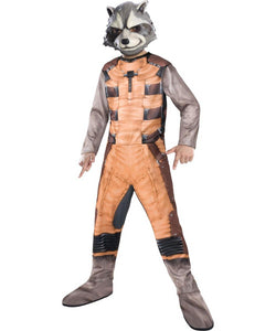 Guardians Of The Galaxy Marvel Rocket Raccoon Child Costume Small