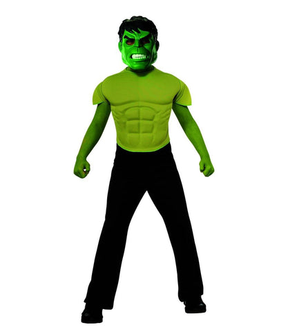 Avengers Assemble Marvel Hulk Muscle Chest Shirt Child Costume