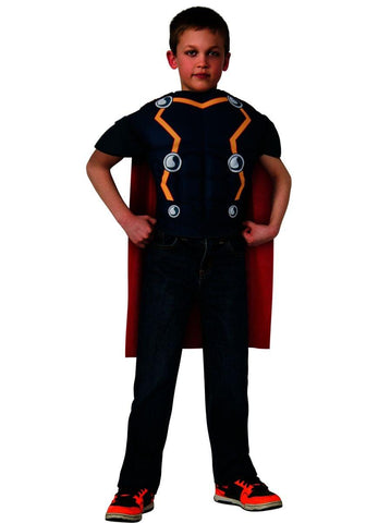 Avengers Assemble Marvel Thor Muscle Chest Shirt Child Costume