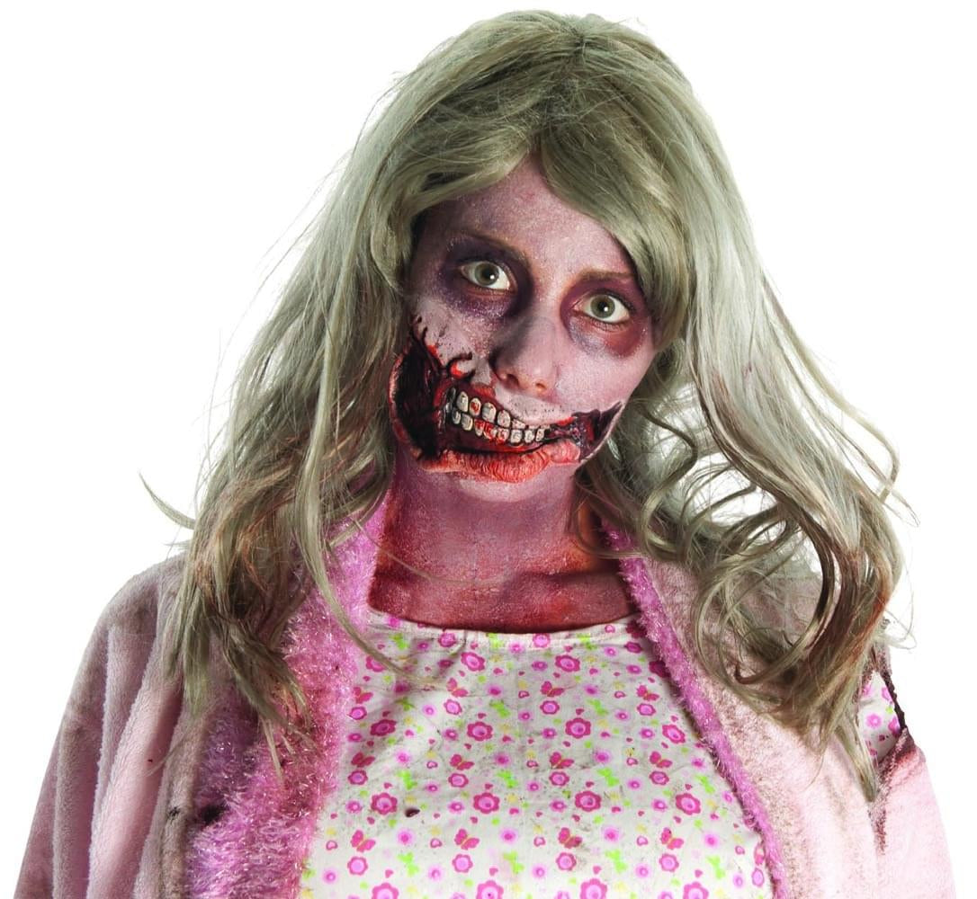 The Walking Dead Little Girl Mouth Latex Prosthetic Costume Makeup
