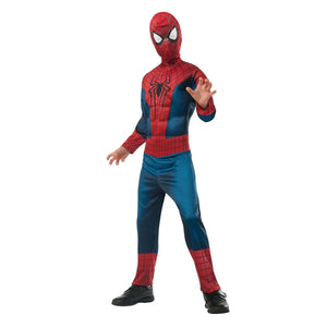Amazing Spider-Man 2 Deluxe Muscle Chest Spider-Man Child Costume