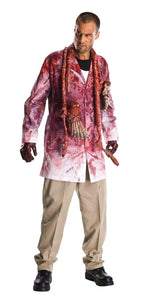 The Walking Dead Rick Grimes Bloody Zombie Parts Costume Adult