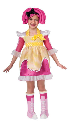 Lalaloopsy Deluxe Crumbs Sugar Cookie Romper Costume Child