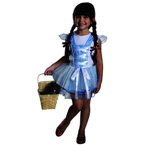 Wizard Of Oz Dorothy Tutu Child Costume Medium