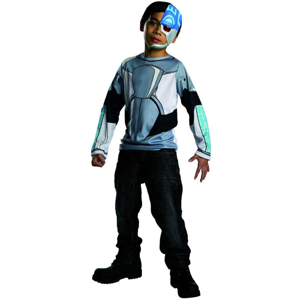 Teen Titans Go! Cyborg Top Child Costume Large