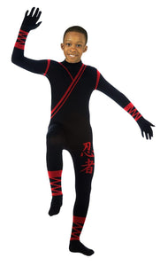 2nd Skin Suit Costume Child: Ninja Medium