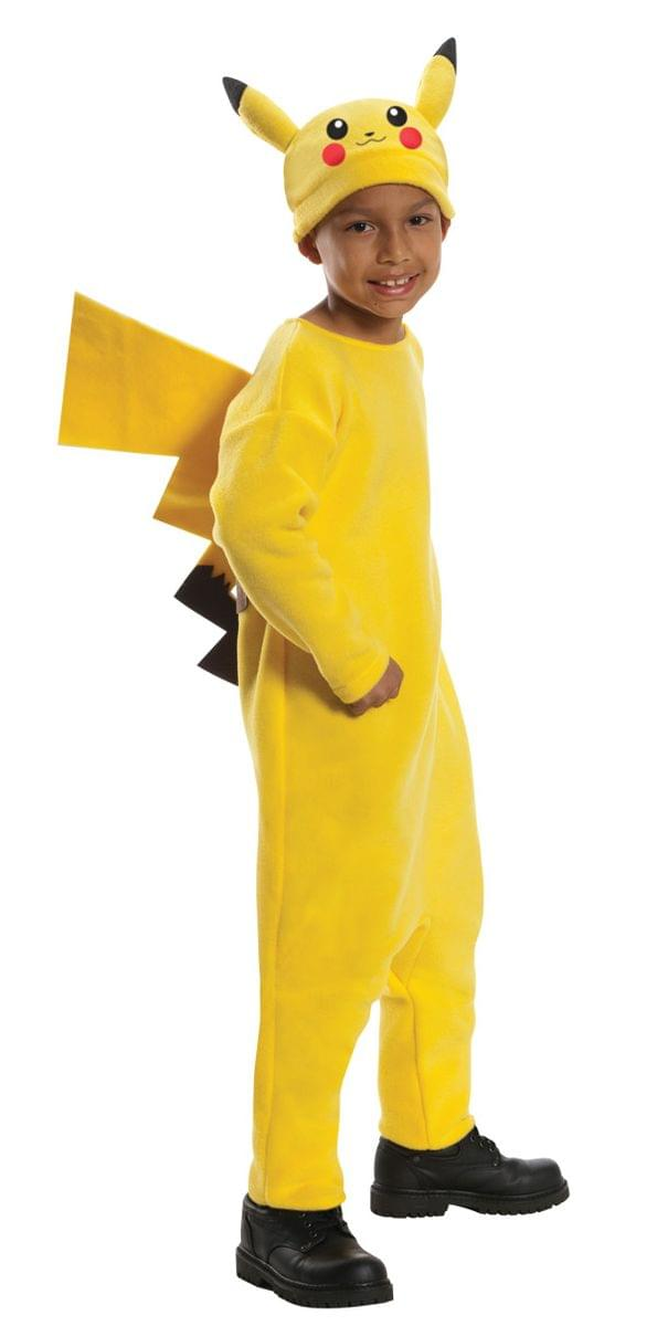 Pokemon Deluxe Pikachu Costume Child Large 12-14