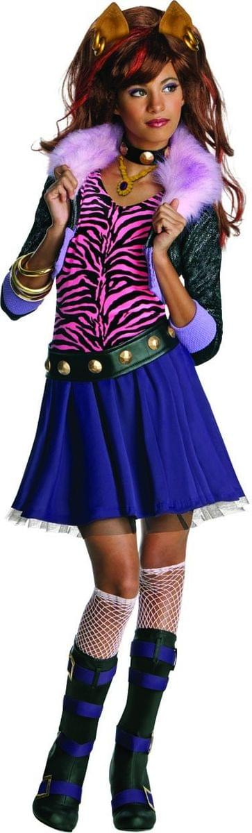 Monster High Clawdeen Wolf Costume Child Large 12-14