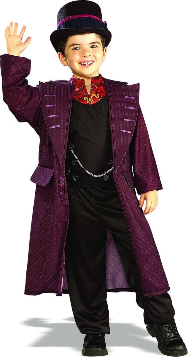 Charlie & The Chocolate Factory Willy Wonka Costume Child