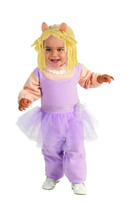 The Muppets Romper Miss Piggy Baby Costume 6-12 Months