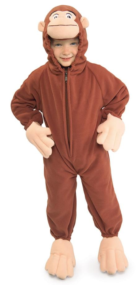 Curious George Fleece Toddler Costume