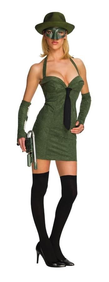 The Green Hornet Sexy Green Hornet Costume Adult