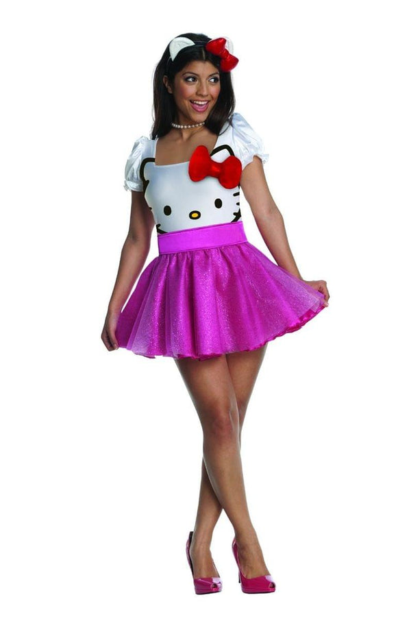 Hello Kitty Costume Dress Adult