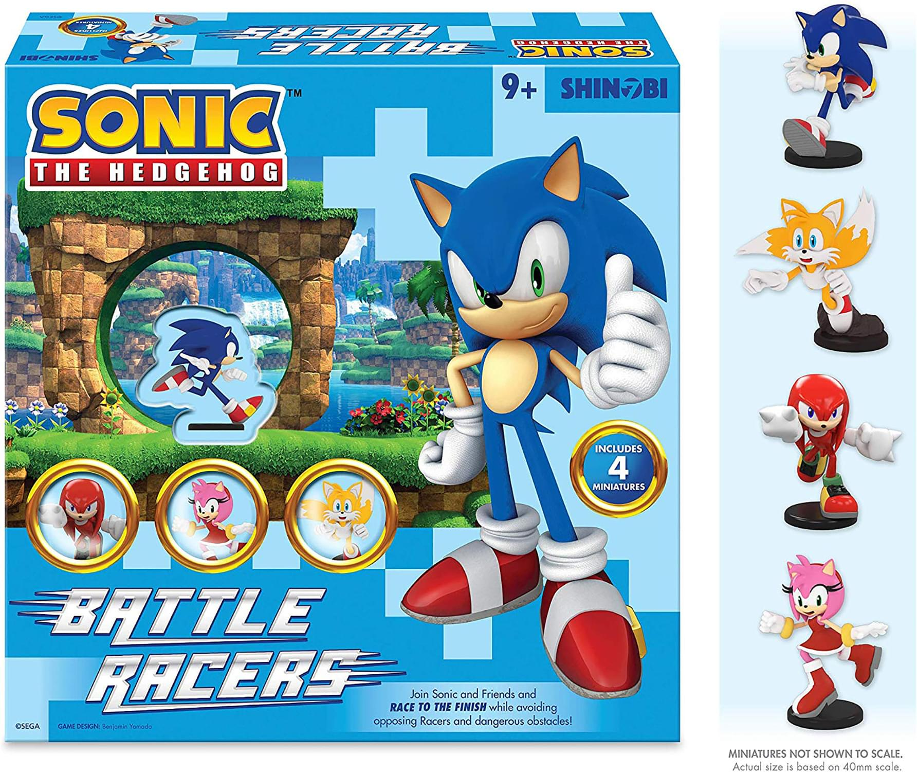 Sonic The Hedgehog Battle Racers Board Game Toynk Toys