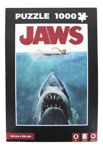 Jaws Movie Poster 1000 Piece Jigsaw Puzzle