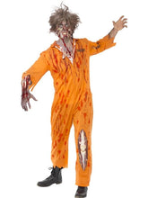 Load image into Gallery viewer, Zombie Convict Costume Adult Large