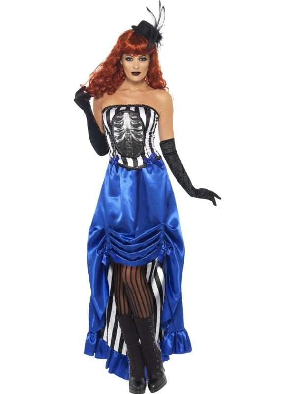 Grotesque Burlesque Pin-Up Dancer Adult Costume