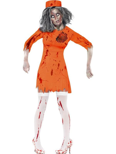 Zombie Death Row Diva Adult Costume