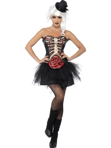 Grotesque Burlesque Dancer Adult Costume