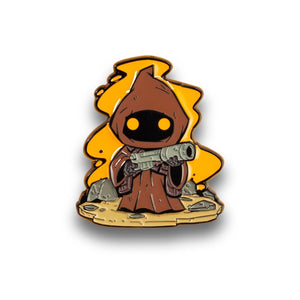 OFFICIAL Star Wars Jawa Pin | Exclusive Art Design By Derek Laufman