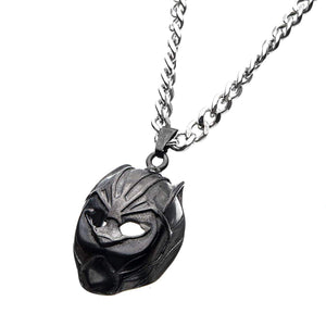 Marvel Black Panther Mask 3D Pendant Necklace